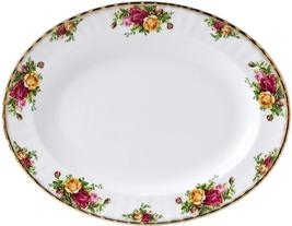 "Royal Albert ""Old Country Roses"" Large Oval Platter Fine Bone China 22K ... - $249.70"