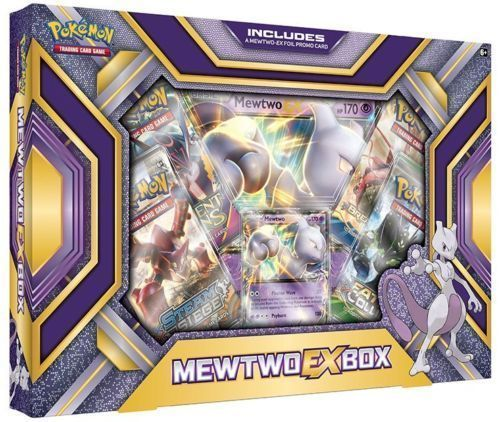 Mega Beedrill EX Box + Mewtwo EX POKEMON TCG Booster Boxes Factory Sealed
