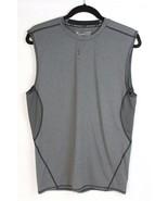 Under Armour compression heat gear men's tshirt gray sleeveless size XL/... - $20.10