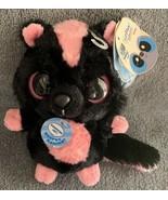 "YooHoo & Friends Aurora Striped Skunk SPARKEE w/Noise Plush 5"" NWT Pink ... - $9.99"