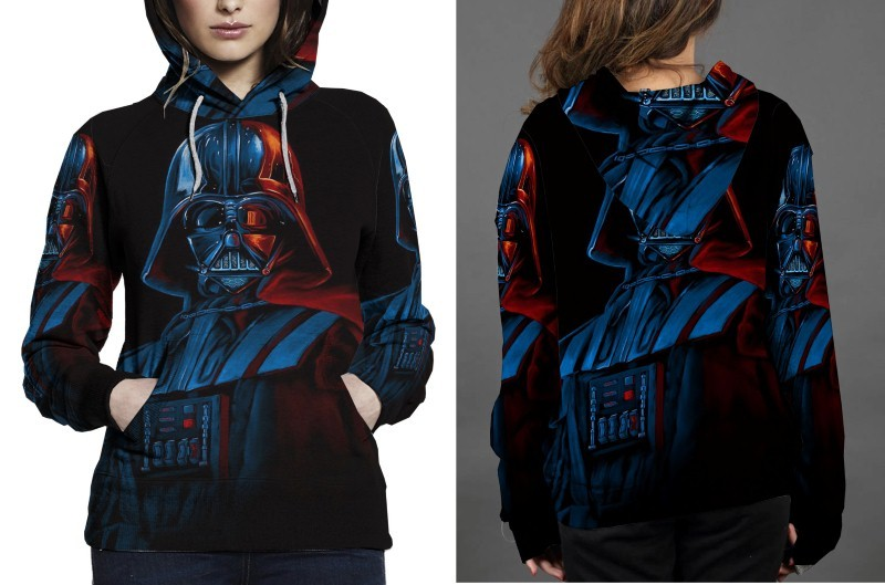 Primary image for Darth Vader Art Hoodie Fullprint Women