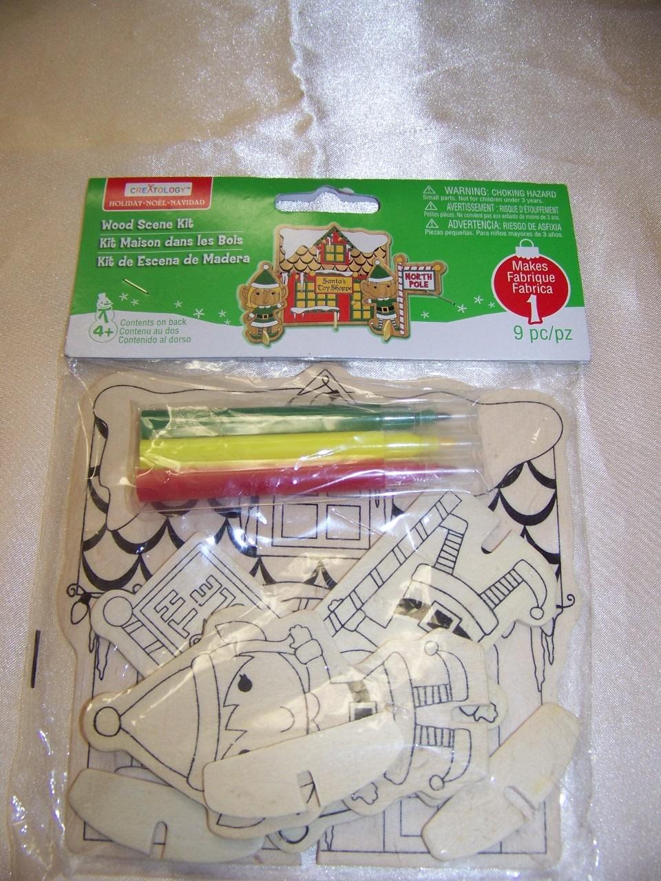 b80ea5cbe Creatology Holiday Wood Scene Santa's Work and 50 similar items