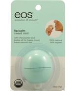 EOS organic LIP BALM, green sweet mint - $4.74