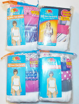 Fruit of the Loom Womens 10 Pack Low Rise Brief Some Colors Some White 7... - $12.59