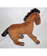 Ikea Okenlopare Horse Pony Plush Stuffed Animal Brown White Star Spot - $13.37