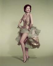 Ann Miller leggy pin up gold dress shoes 16x20 Poster - $19.99