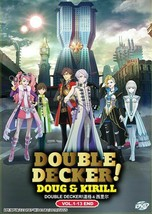 Double Decker! Doug & Kirill Complete Series (1-13) English Dub Ship From USA