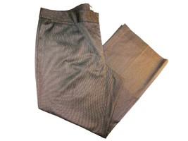 "Halogen Gray Flat Front Full Leg Women's Pants Size 24W 46x32"" - $29.65"