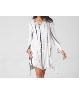 Women Long Sleeve V-Neck Loose Mini Dress - £30.47 GBP - £39.59 GBP