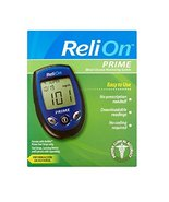 ReliOn Prime Blood Glucose Monitoring System - $24.74