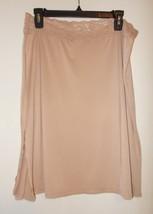 "Women's Size XL Vassarette Beige Slip 21"" OR 23"" Length NWT - $8.99"
