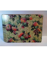 Pimpernel Set of 4 Placemats 16*12'' Candy Fruit Holiday Winter Xmas Eng... - $44.55