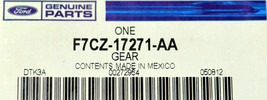 Genuine OEM Ford Vehicle Speed Sensor F7CZ-17271-AA 97-03 Escort Mercury Tracer - $68.30