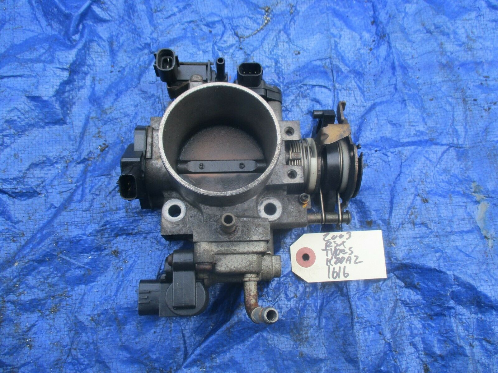 02-04 Acura RSX Type S K20A2 throttle body assembly OEM engine motor K20A TPS 16
