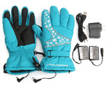 Motorcycle Warmer Heated Gloves Batterie Rechargeable  Chauffants Gants Hiver Fo