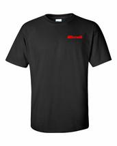 Benelli Script Red Chest Logo T Shirt 2nd Amendment Pro Gun Rights Rifle... - $8.99+