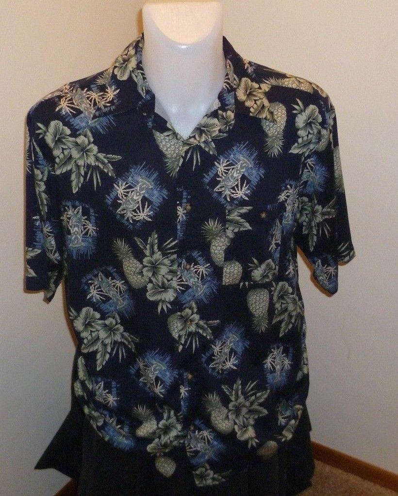 09804c27 Puritan Hawaiian Shirt - Mens Size Large - and 50 similar items. S l1600