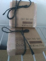 (2) Caramel Scented Craft Bar Soap - New in the Package