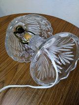 Vintage Leviton  Crystal  Glass Lamp Working Night Light Lamp image 3