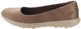 Skechers GO Walk Lite Slip-On Shoes Gem Brown 8W NEW A347418 - $49.48