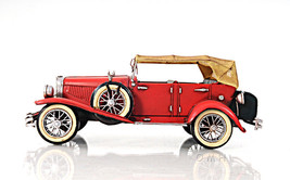 1933 Red Duesenberg J 1:12  Old Modern Handicrafts - $70.71