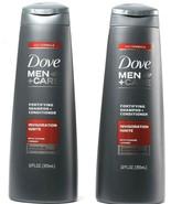 2 Dove Men + Care 2in1 Formula Invigoration Ignite Taurine Ginger Rechar... - $26.99