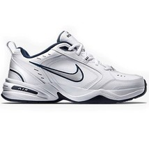 Nike Air Monarch White/Navy 415445-102 Leather Classic Casual Men - $58.95