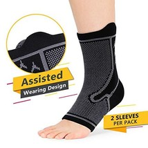 Plantar Fasciitis Support Ankle Brace for Men and Women, Sprained Ankles Compres