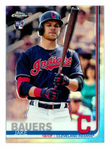 Jake Bauer RC 2019 Topps Chrome Refractor Rookie Card#73 GEM PSA10?India... - $19.79