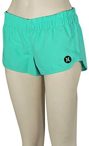 Hurley Supersuede Solid Beachrider Board Short - Women's Green Glow C, XS
