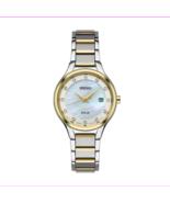 Seiko Women's Diamond Two Tone Stainless Steel Solar Watch - SUT318 - $69.29
