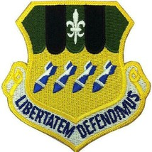 Genuine U.S. Air Force Patch: Second Bomb Wing - Color With Hook Closure - $16.81