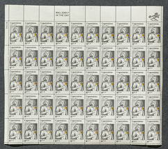 Copernicus 1472-1973, Sheet of 8 cent stamps, 5... - $7.50