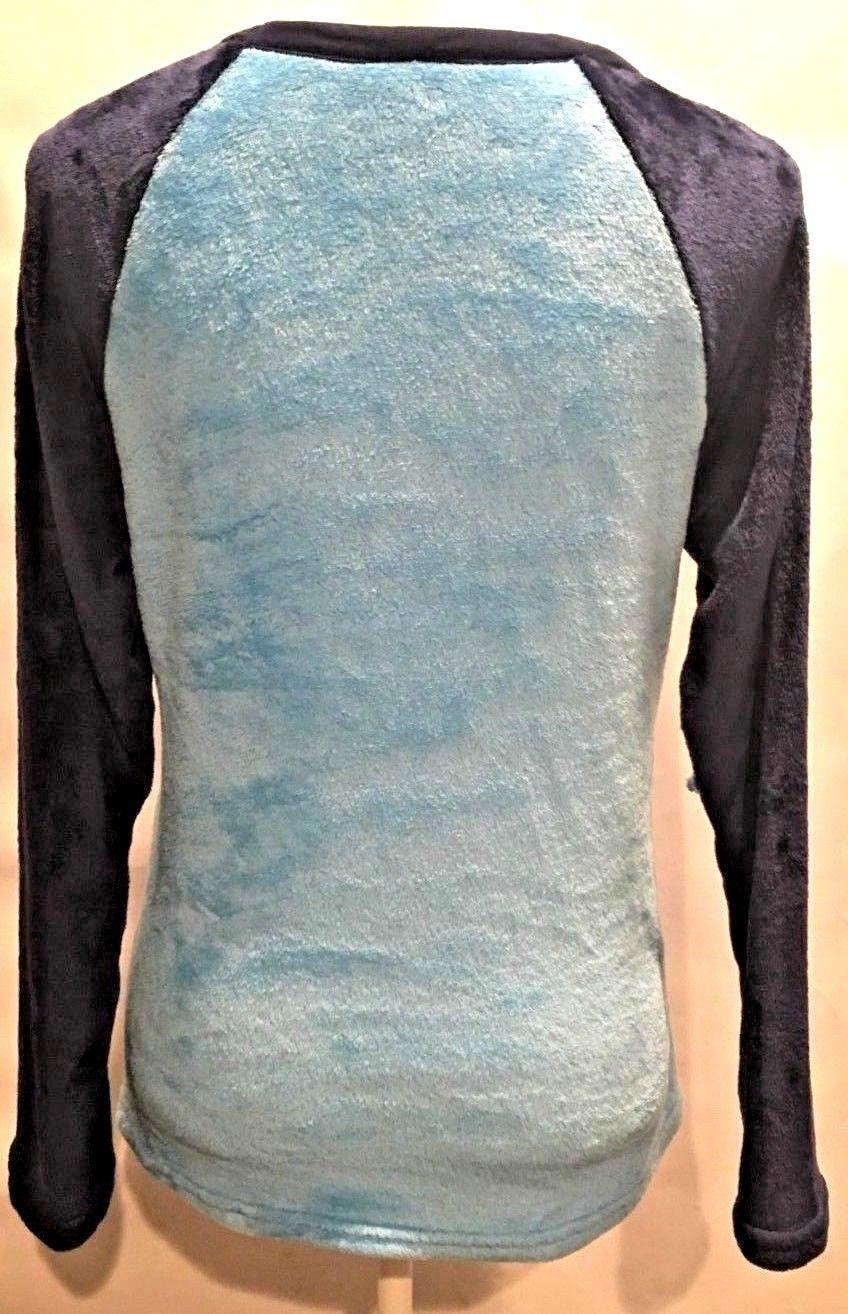DESPICABLE ME 3 Minions Dave Long Sleeve Fleece Sleep Shirt BLUE  M 8-10
