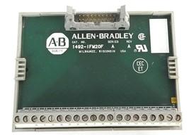 ALLEN BRADLEY 1492-IFM20F INTERFACE MODULE SER. A, REV. A