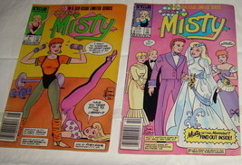 Vtg Meet Misty #5, #6 Marvel Star Comic Books Uncut Paper Dolls - $4.50