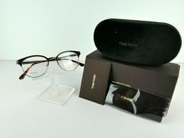 Tom Ford TF 5382 (009) Brown / Gunmetal TITANIUM 50 x 19 145 mm Eyeglass... - $120.24