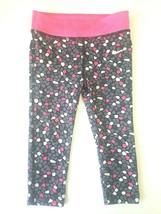 Nike Toddler Girls Leggings Yoga Pants Size 2T Dri-Fit Pink Gray White Black - $14.54
