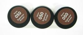 Revlon Lipstick Brown Super Lustrous Matte 050 Superstar Brown Lot of 3 Sealed - $15.99