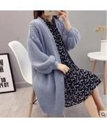 2019 Autumn Winter Fashion Women Long Sleeve loose knitting cardigan swe... - $34.00