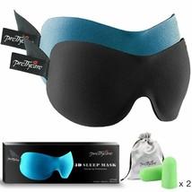 PrettyCare 3D Sleep Mask  - Contoured Eyemask Blindfold Travel Cover Sha... - €19,04 EUR