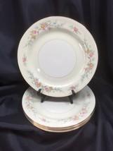 """5 Homer Laughlin Eggshell Nautilus Ferndale Dinner Plates 9 7/8"""" Gold 1947 - $24.74"""