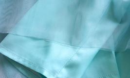Blue Tulle Maxi Skirt Full Length Tulle Skirt Blue Themed Wedding Skirt Outfit image 6