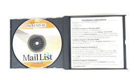 Pro Venture Mailing Tools Windows 95/98 CD-Rom Small Business Professional Tools image 2