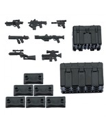 Custom Minifigures Military Army Guns Weapons Compatible w/ Lego Sets Mi... - $7.49