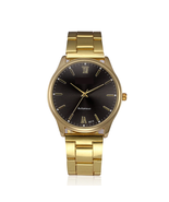 Luxury Men's Gold Watches Top Brand Stainless Steel Strap Bracelet Watch... - $18.89