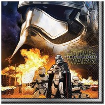 Star Wars The Force Awakens Luncheon Napkins 16CT - $5.87