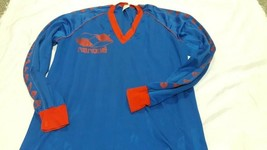 Old soccer Jersey  orig  Nanque with 3  80´s Made in Argentina - $34.65