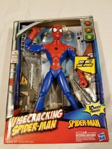 "Rare Marvel Hasbro Wisecracking Spiderman Action Figure 12"" NIP Spidey P... - $93.09"