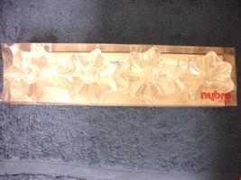NYBRO CRYSTAL ART GLASS 4 STAR CRYSTAL CANDLESTICK HOLDER SWEDEN BEAUTIFUL - $28.04